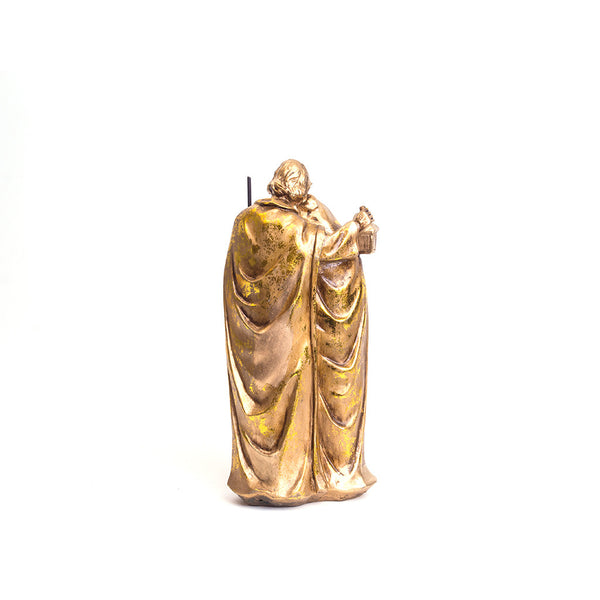Polystone Holy Family (Gold)