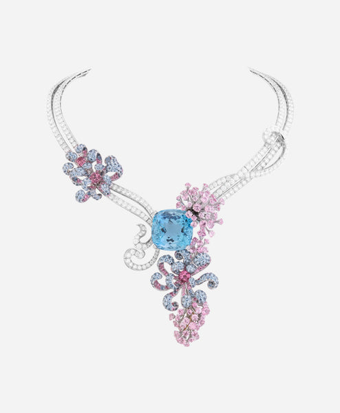 Swarovski Elements Silver Key Pendant for Women by NEVI