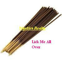 Lick Me All Over Incense Sticks ~ 100 per pack