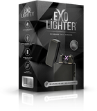 Caja Exo Lighter Black Chrome