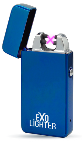Exo Lighter Electric Blue