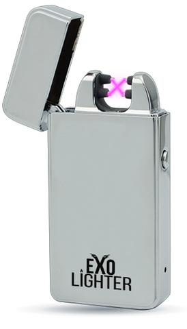 Exo Lighter Silver Chrome
