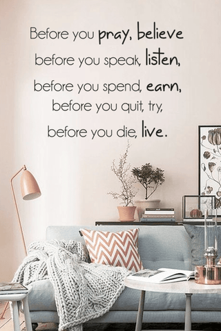 Before you quit, try slim wall quote
