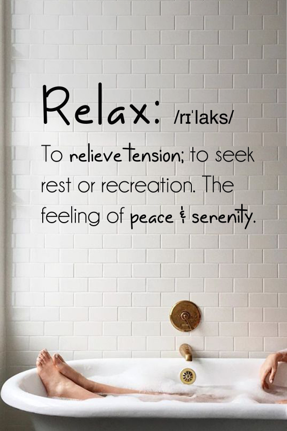Relax Definition