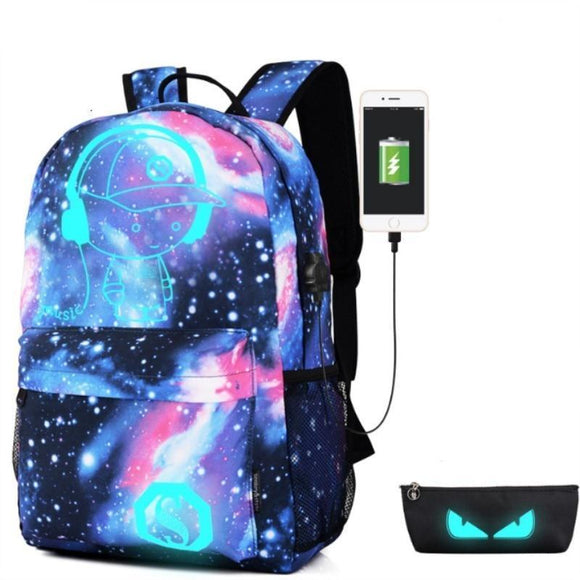 Multi-functional Luminous Backpack