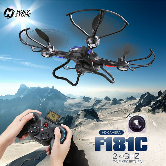 Holy Stone F181C RC Quadcopter Drone With HD Camera & One Key Return
