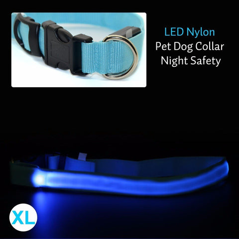 Dog Collar With LED Safety Light - Big Star Trading - 4