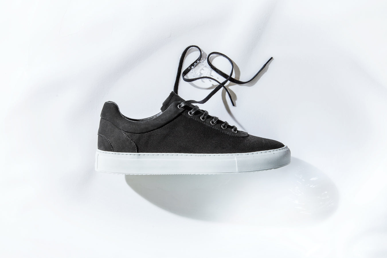 weatherproof sneaker no-1, black