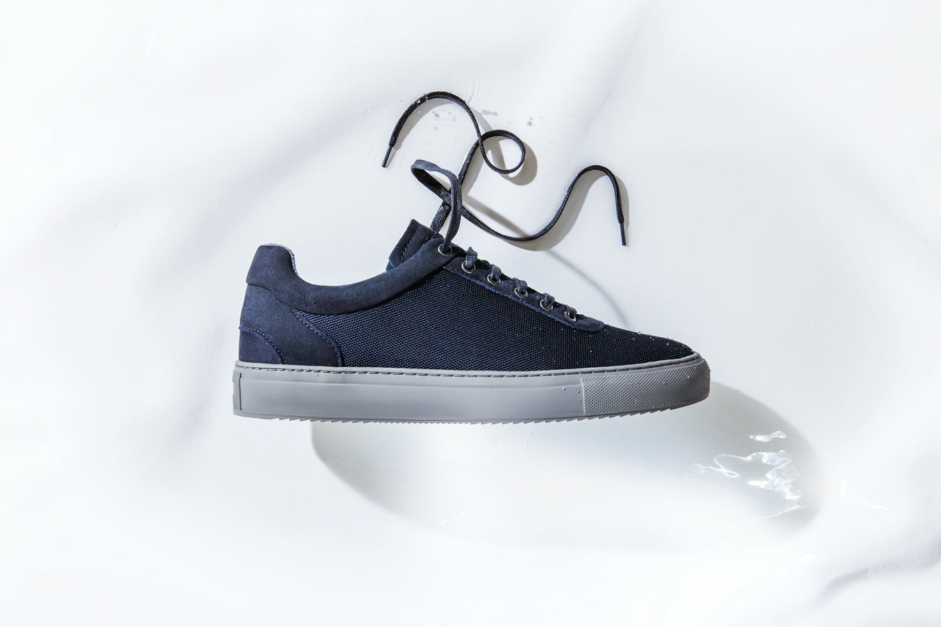 weatherproof sneaker no-1, blueberry