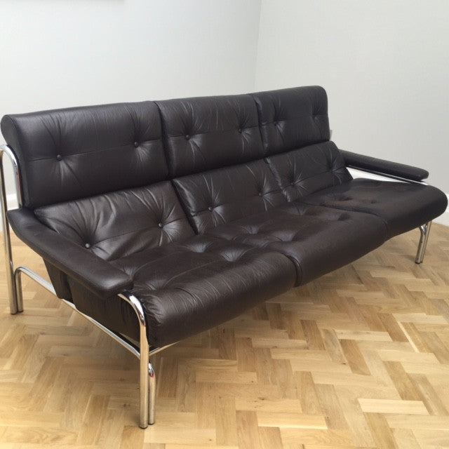 Pieff Alpha Leather Sofa