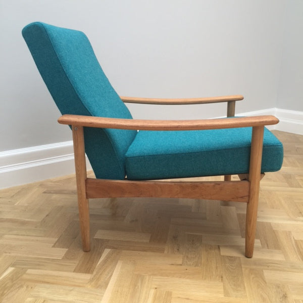 Guy Rogers Teak Armchair