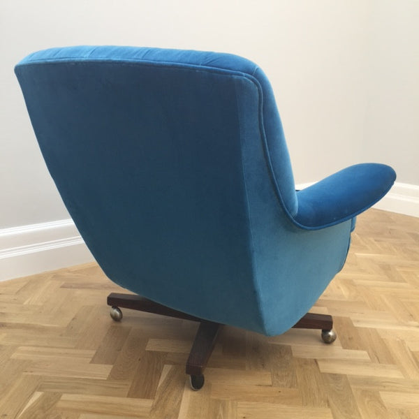 G Plan Swivel Armchair
