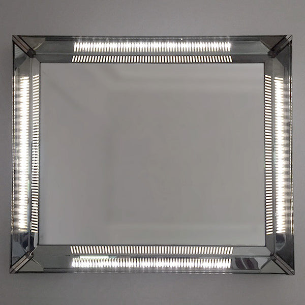 1960s Italian Illuminated Mirror