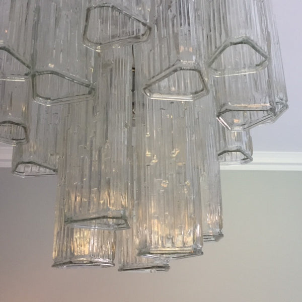 Vintage 1960s Murano Glass Chandelier