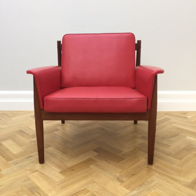 1960s Grete Jalk Lounge Chair for France & Son