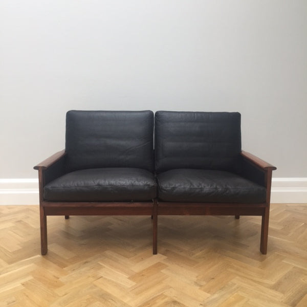 Illum Wikkelsø Capella Two-seater Leather Sofa