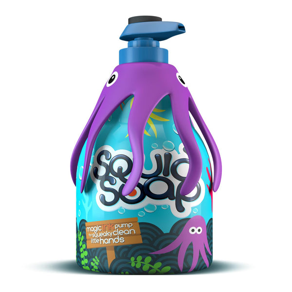 SquidSoap Magic Ink Handwash Purple