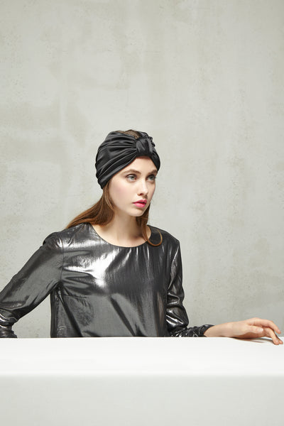 ALICIA Turban in Satin