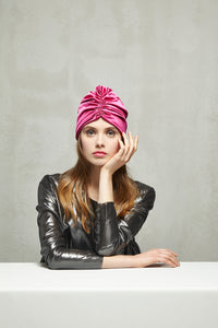 JACQUELINE Turban in Satin