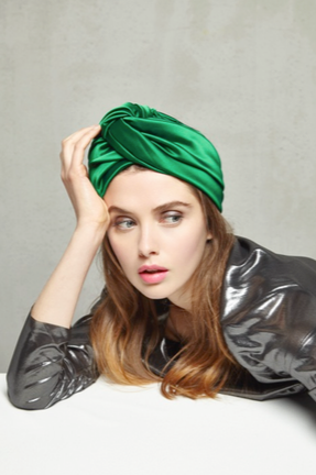 CANDI Turban in Satin