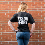 TFTEE2B - Black Tyson Fury T-Shirt with TF logo