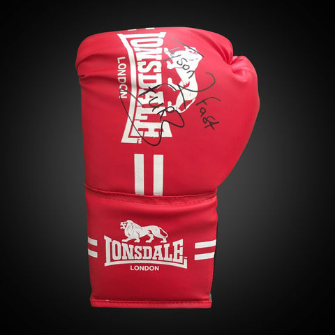 Single Boxing Glove - Signed by Tyson Fury