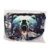 3D Starry Sky Bear Makeup Bag Animal Cosmetic Handbag with Zipper Lady Travel - Shopping2all - 9
