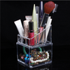 Acrylic Clear Make Up Storage Cosmetic Organizer Makeup Nail Polish Display Case Holder - Shopping2all - 1