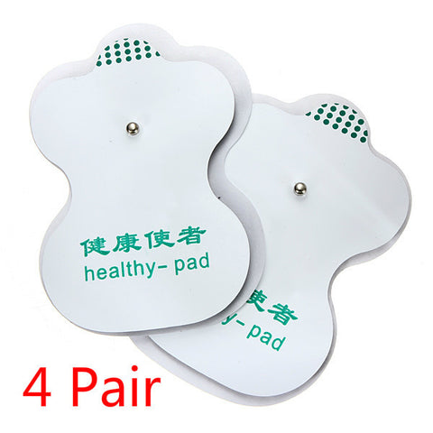 4 Pair Tens Adhesive Electrode Pads For Acupuncture Digital Therapy - Shopping2all - 1