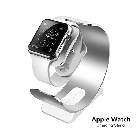 ARCHEER Watch Stand Aluminum Charging Stand Bracket Dock Station Cradle Holder For Apple Watch - Shopping2all - 1
