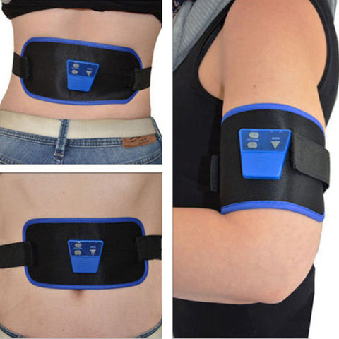 AB Gymnic Electronic Muscle Arm leg Waist Abdominal Massage Slim Belt - Shopping2all - 1