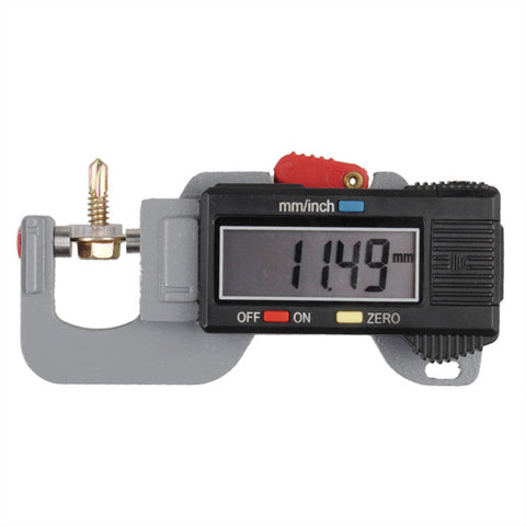 0-12.7mm Digital Thickness Gauge Meter Tester Micrometer - Shopping2all