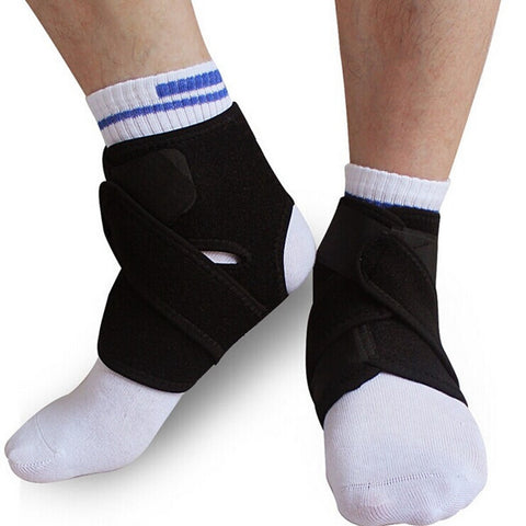 1Pcs Elastic Neoprene Ankle Protection Pad Sport Support Brace - Shopping2all - 1