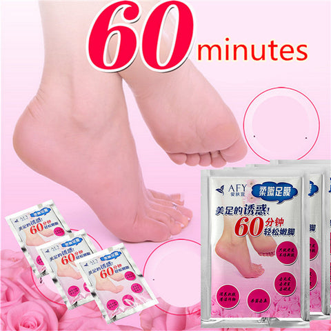 AFY Foot Care Mask Peeling Nourish Dead Skin Cuticle Heel Sterilization Remove - Shopping2all - 1