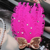 Baby Bow Peacock Feather Flower Headbands Wear Accessory - Shopping2all - 9