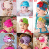 Baby Bow Peacock Feather Flower Headbands Wear Accessory - Shopping2all - 11