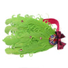 Baby Bow Peacock Feather Flower Headbands Wear Accessory - Shopping2all - 2