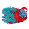 Baby Bow Peacock Feather Flower Headbands Wear Accessory - Shopping2all - 4