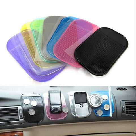 Anti-Slip Car Dashboard Sticky Pad Non-slip Mat Key Holder For iPhone - Shopping2all - 1