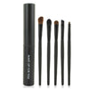 5PCS Eye Cosmetic Makeup Eyeshadow Brush Sets With Cylinder Case - Shopping2all - 1