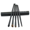 5PCS Eye Cosmetic Makeup Eyeshadow Brush Sets With Cylinder Case - Shopping2all - 2