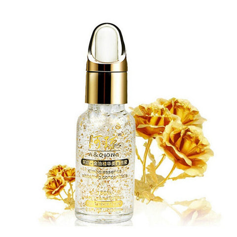 A QIONG 24K Gold Foil Hyaluronic Acid Moisturizing Whitening Essence - Shopping2all - 1