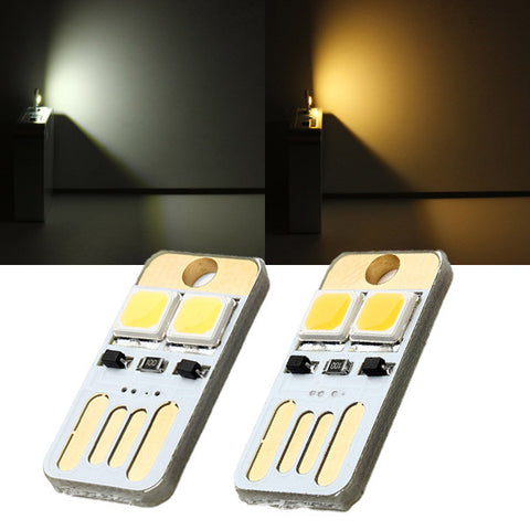 0.5W 25LM Mini Switch USB Mobile Power Camping LED Light Lamp - Shopping2all