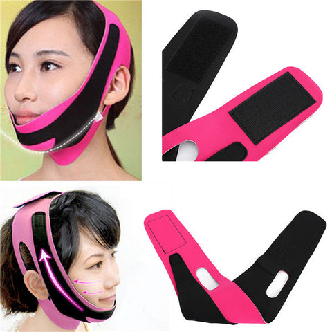 Anti Wrinkle Lift V Face Facial Cheek Slimming Ultra-thin Strap Belt Band - Shopping2all - 1