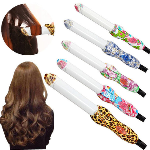 100-240V Electric Hair Curler Ceramics Curling Iron Hair Care - Shopping2all - 1