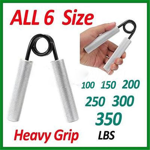 100-350 LBS Heavy Grip Hand Grippers Build Forearm Strength Training Weight Lifting Arm Wrestling - Shopping2all - 1
