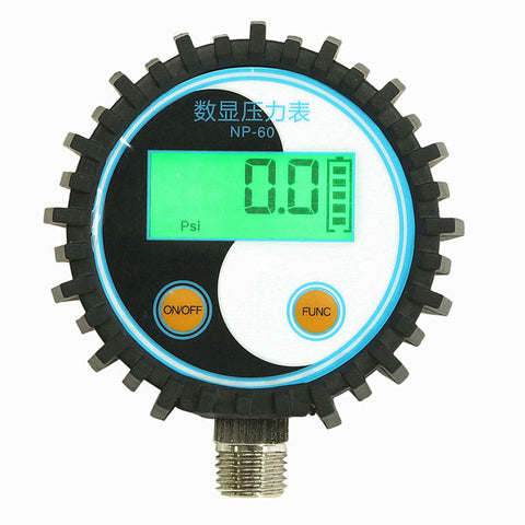 0-10bar/0-145psi G1/4 Battery-Powered Digital Pressure Gauge Pressure Tester - Shopping2all