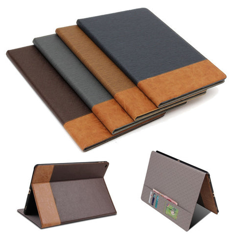 "For Apple iPad Pro 12.9 Magnetic PU Leather Stand Smart Back Cover Filp Wallet Case with Card Slot"" - Shopping2all - 1"