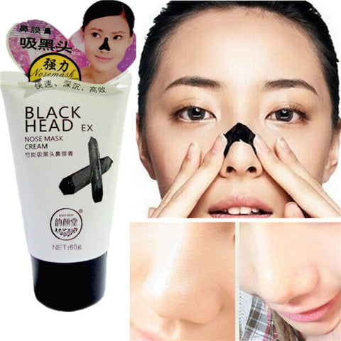 Bamboo Nose Blackhead Mask Deep Cleansing Acne Remover Shrinking Pores Mud - Shopping2all - 1