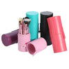 12Pcs Professional Makeup Cosmetic Brush Set Cylinder Leather Case - Shopping2all - 2